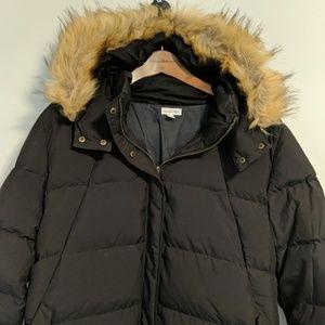 Garnet Hill down puffer jacket